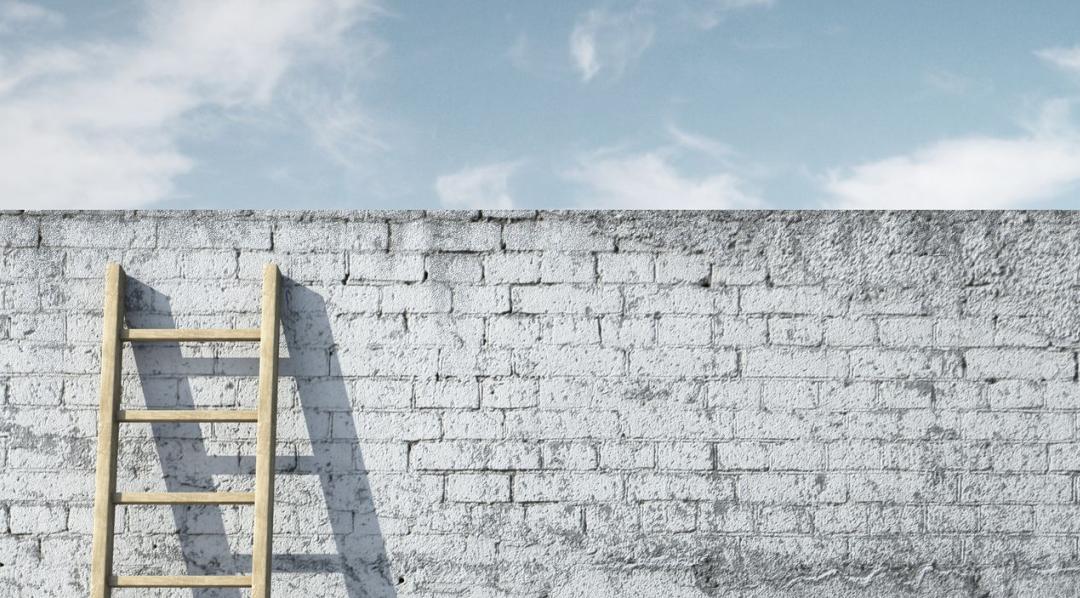 Staat jouw ladder tegen de juiste muur?